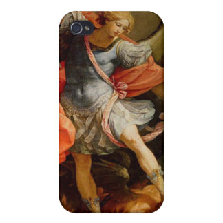 Archangel Michael by Reni Sacred Art iPhone 4 Cases