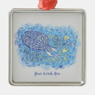 Archangel Michael Custom Holiday Gift Ornaments