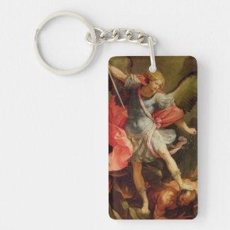 Archangel Michael Key Chain
