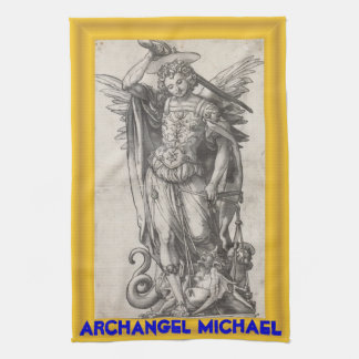 Archangel Michael kitchen towel