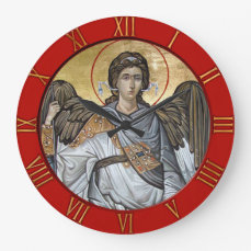 Archangel Michael Large Clock