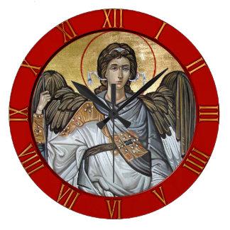 Archangel Michael Large Clock