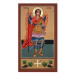 Archangel Michael Mini-Prayer Card Business Cards
