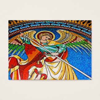 Archangel Michael Mosiac, Kaiser Wilhelm Church Business Card