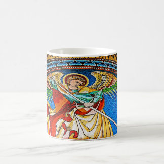 Archangel Michael Mosiac, Kaiser Wilhelm Church Coffee Mug