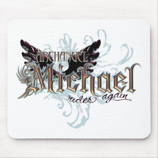 Archangel Michael Mouse Pad