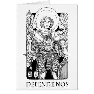 Archangel Michael Notecard