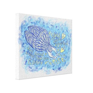 Archangel Michael Painting Wrapped Canvas Art