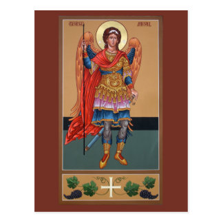 Archangel Michael Prayer Card Post Card