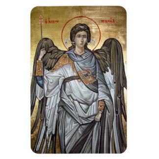 Archangel Michael Rectangular Magnets