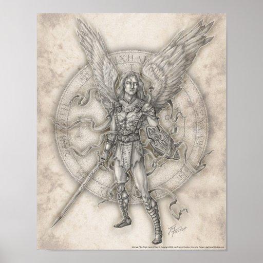 Archangel Michael Print