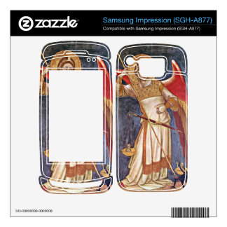 Archangel Michael weighing a soul by Guariento Samsung Impression Skin