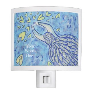 Archangel Michael's Support Art Night Lamp Light
