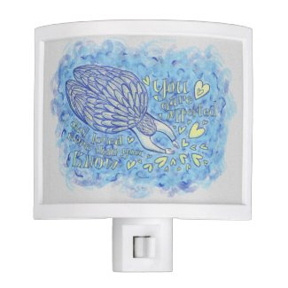 Archangel Michael's Support Art Night Light Lamp