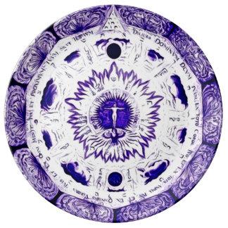 Archangel Offering Plate Porcelain Plate