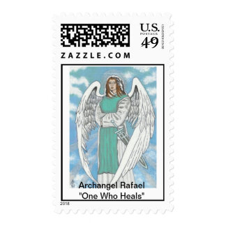Archangel Rafael Postage Stamp