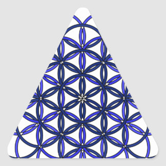 Archangel Raguel Delight Triangle Sticker