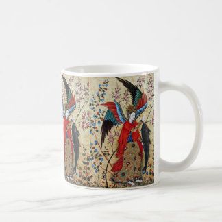 ARCHANGEL RAPHAEL AND FISH PARCHMENT COFFEE MUG
