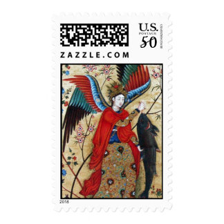 ARCHANGEL RAPHAEL AND THE FISH POSTAGE