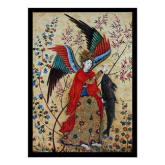 ARCHANGEL RAPHAEL AND THE FISH POSTER