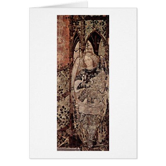 Archangel Raphael By Antonio Di Puccio Pisano Card