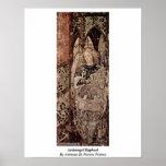 Archangel Raphael By Antonio Di Puccio Pisano Posters