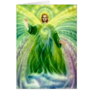 Archangel Raphael Healing Light Card