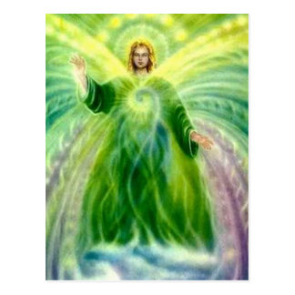 Archangel Raphael Healing Light Postcard
