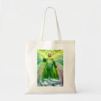 Archangel Raphael Healing Light Tote Bag