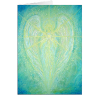 Archangel Raphael Note Card