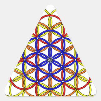 Archangel Sandalphon Delight Triangle Sticker