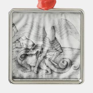 Archangel St. Michael, c.1450 Metal Ornament