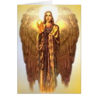 Archangel Uriel Card