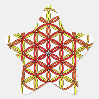 Archangel Uriel Delight Star Sticker