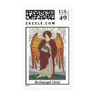 Archangel Uriel Postage Stamp