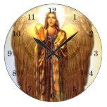 Archangel Uriel Wall Clock