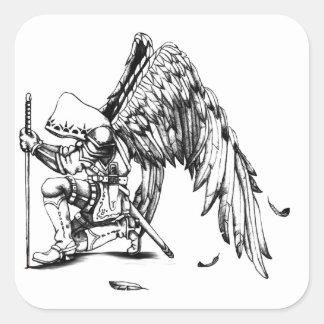 ArchAngel Warrior Square Sticker