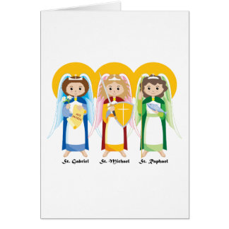 Archangels Greeting Card