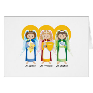 Archangels Greeting Cards