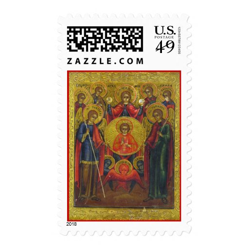 Archangels postage stamp
