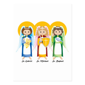 Archangels Postcard