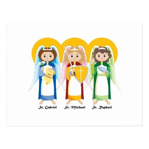 Archangels Postcards