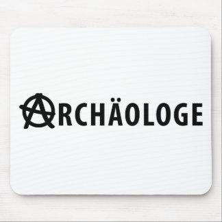Archäologe icon mouse pad