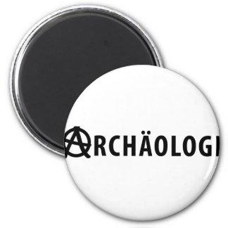 Archäologe 2 Inch Round Magnet