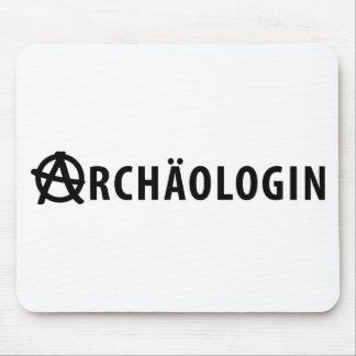 Archäologin icon mouse pad