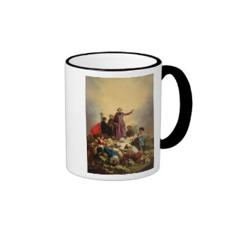 Archbishop Affre on the Barricades, 1848 Ringer Mug