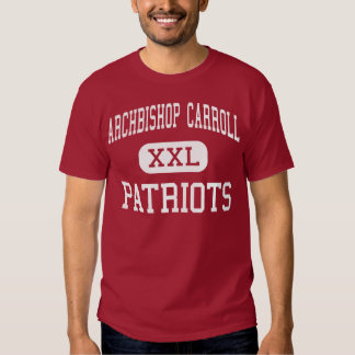 Archbishop Carroll - Patriots - High - Radnor T-shirt
