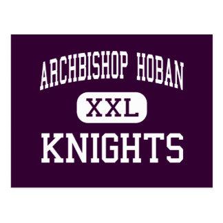 Archbishop Hoban - Knights - High - Akron Ohio Postcard