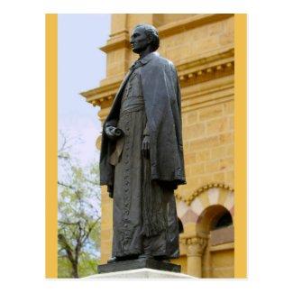 Archbishop Jean-Baptiste Lamy Statue Postcard