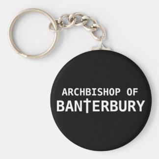 Archbishop of Banterbury 2 Basic Round Button Keychain